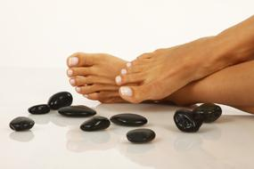 Feet and Spa Stones
