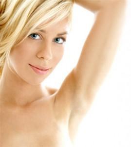 Hellenic Spa Armpit hair removal