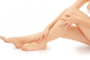 smooth legs with laser hair reduction