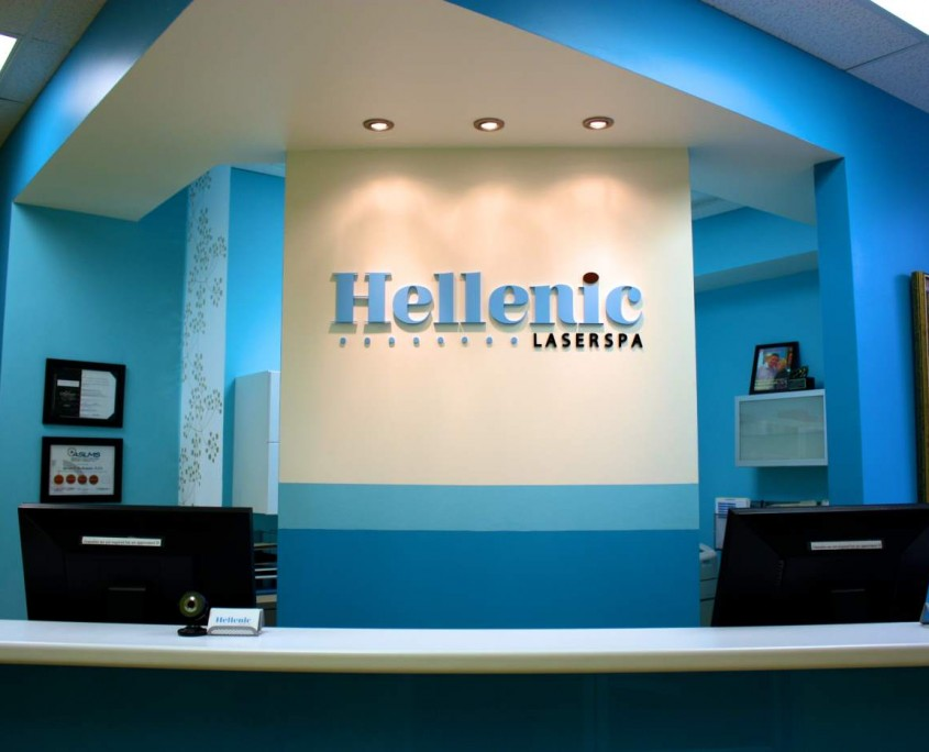 Hellenic Laser Spa Denver - front desk